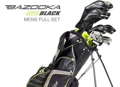 Picture of MENS BAZOOKA 460 BLACK COMPLETE SET