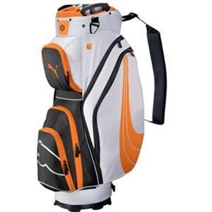 Picture of Puma Formstripe Cart Bag - Orange and White