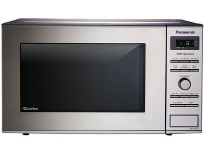 Picture of Stainless Steel 0.8 Cu. Ft. Small/Compact Countertop Microwave Oven with Inverter Technology™