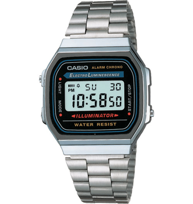 Picture of Casio A168W-1 Classic Wrist Watch