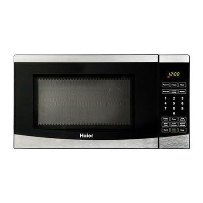 Picture of Haier 0.7 Cu. Ft. 700 Watt Microwave - Stainless Steel