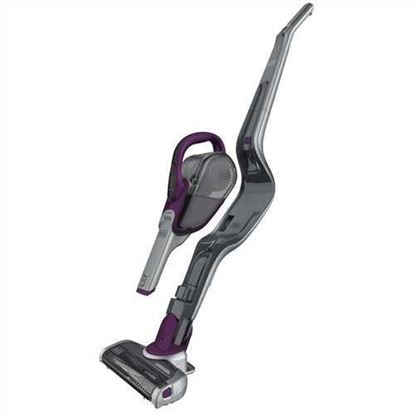 Picture of Black & Decker SMARTECH Cordless Lithium 2-IN-1 Stick Vacuum (Eggplant Purple)