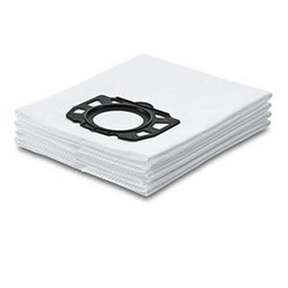 Picture of Karcher  WD Fleece Filter Bags 4 pk Wht