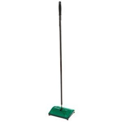 Picture of Bissell big green commercial BG25 floor sweeper with rotating nylon brush