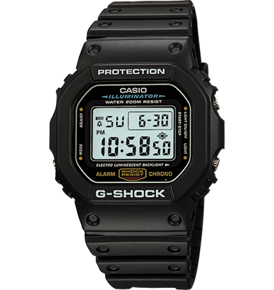 Picture of Casio G-SHOCK DW5600E-1V Wrist Watch