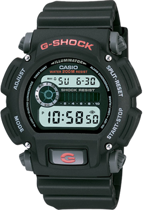 Picture of G Shock Mens Watch Black