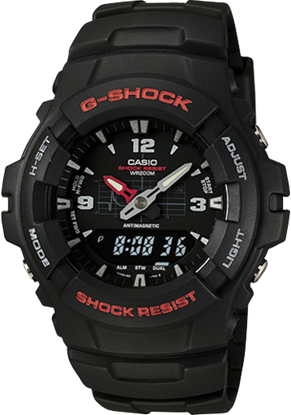 Picture of Casio G-SHOCK G100-1BV Wrist Watch