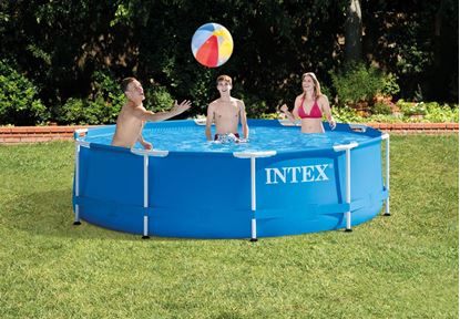 "Picture of Intex 10' X 30"" Metal Frame Pool"