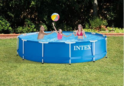 "Picture of Intex 12' X 30"" Metal Frame Pool"