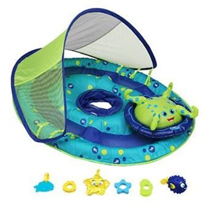 Picture of SwimWays Baby Spring Float Activity Center with Canopy