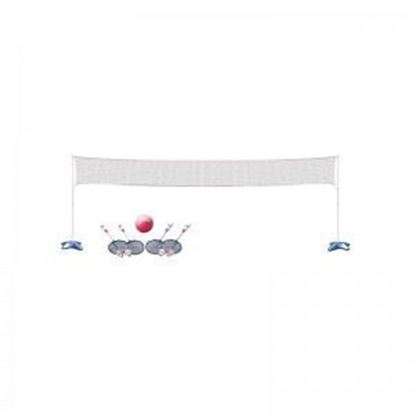 Picture of Across Pool Volleyball & Badminton Game Combo