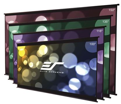 """Picture of Elite Screens DIY Wall Projection Screen - 100"""" - 16:9 - Wall Mount"""