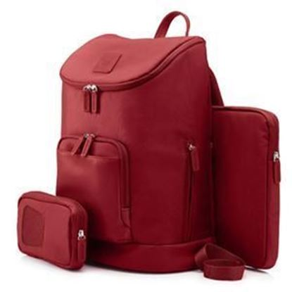 Picture of HP 15.6 Ladies Backpack - Red or Taupe