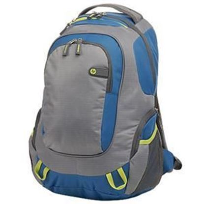 Picture of HP Outdoor Sport Green/Blue Backpack