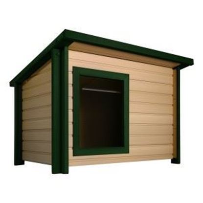 Picture of ecoFLEX Rustic Lodge Dog House