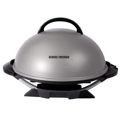 Picture of George Foreman Indoor/Outdoor Electric Grill - Silver
