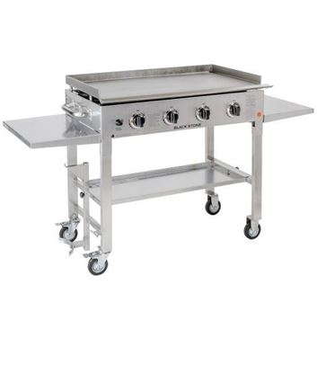 "Picture of 36"" Stainless Steel Outdoor Griddle – 4 Burner"