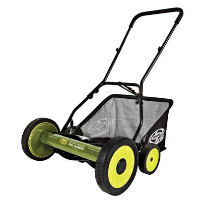 Picture of Sun Joe 20-Inch Manual Reel Mower with Grass Catcher