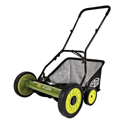 Picture of Sun Joe 18-Inch Manual Reel Mower with Grass Catcher