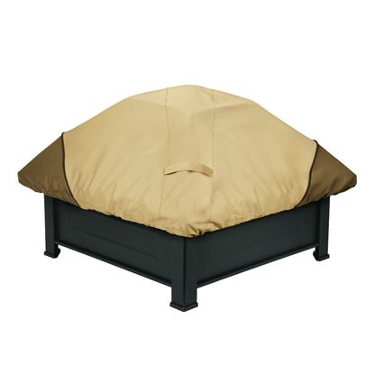 "Picture of Veranda Round Fire Pit Cover-Small - up to 44""D"