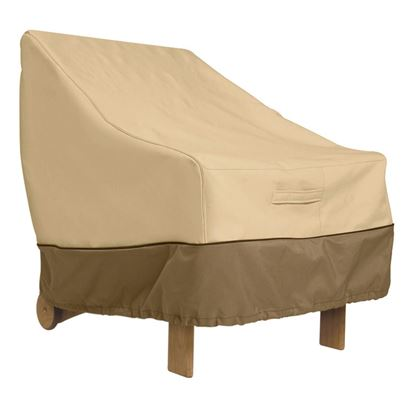 "Picture of Veranda Patio Chair Cover-Standard chairs with backrests up to 20""H 28.5""L 25.5""W 26""H"