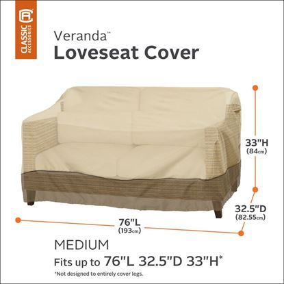 Picture of Veranda Loveseat/ Bench Cover