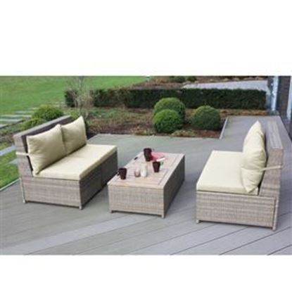 Picture of Budapest Chair/Ottoman Set