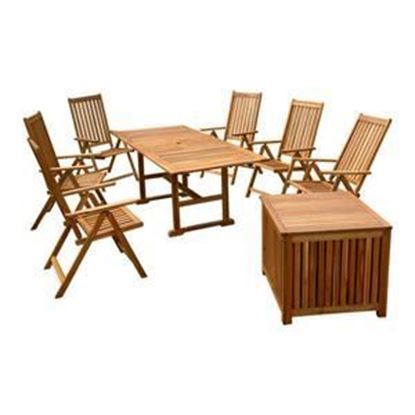 Picture of 8 Pc Patio Dining Set