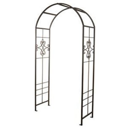 Picture of Steel Quatrefoil Garden Arbor