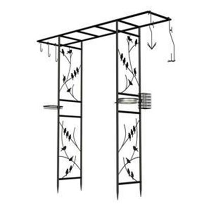 "Picture of 84"" 10pc Bird Feeding Arbor"