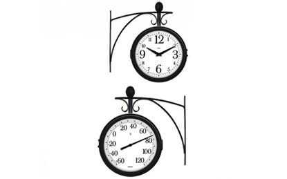 Picture of Station Clock and Thermometer