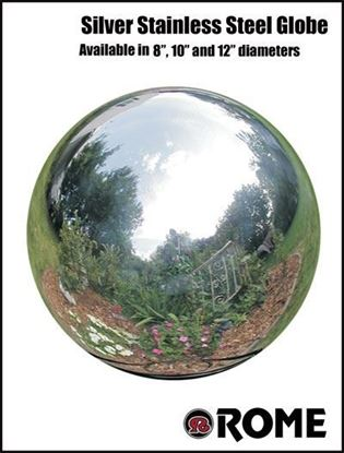Picture of Yard Globe - Silver