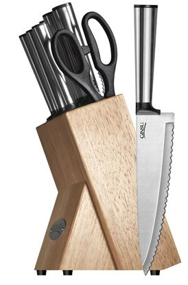 Picture of Koden Series 8 Piece Stainless Cutlery Set (Natural Block)