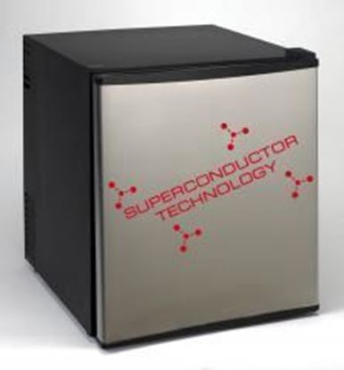 Picture of 1.7 Cubic Foot Compact Superconductor Refrigerator - Stainless Steel