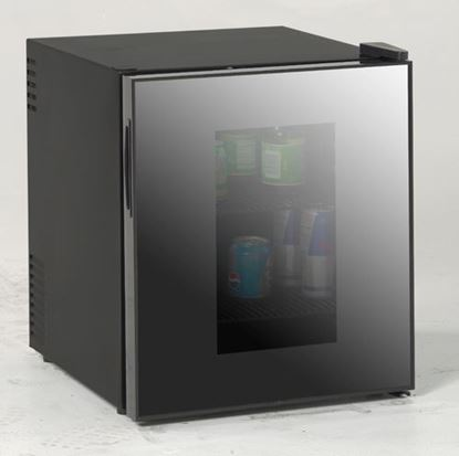 Picture of 1.7 cubic foot Deluxe Beverage Cooler with Mirrored Finish Glass Door