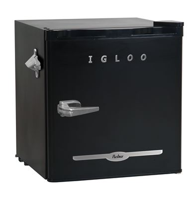Picture of 1.6 cu ft Retro Bar Fridge with Side Bottle Opener (Red or Black)