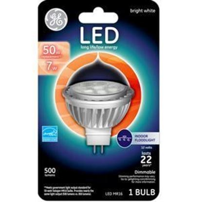 Picture of GE LED 50W Replacement Bright White MR16