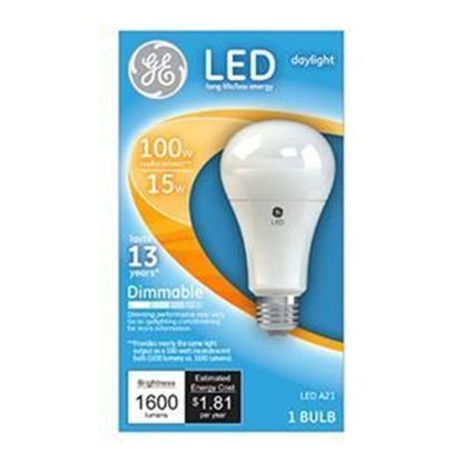 Picture of GE LED Light Bulb, Daylight