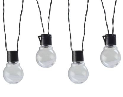 Picture of Coleman Cable Plug-In LED Globe String Lights