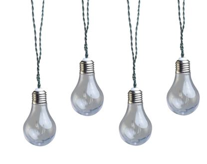 Picture of Coleman Cable Plug-In LED Vintage Bulb String Lights