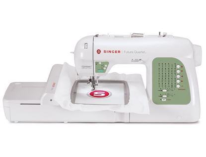 Picture of Futura Quartet SEQS-6000 Electric Sewing/Embroidery Machine