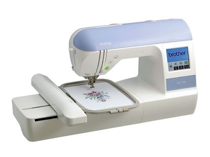 "Picture of 5""x7"" Embroidery Machine With Built-in Memory"