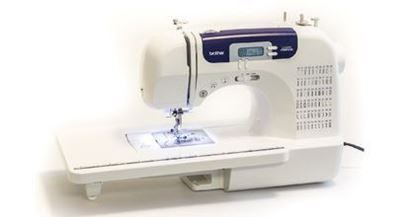 Picture of 60-STITCH COMPUTERIZED SEWING MACHINE WITH WIDE TABLE