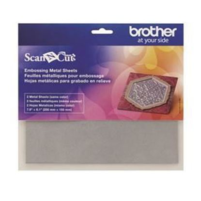 Picture of Brother Embossing Silver Metal Sheets