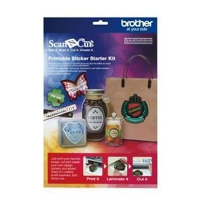 Picture of Brother Printable Sticker Starter Kit