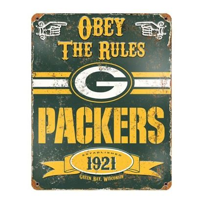 Picture of Vintage Metal Sign - NFL