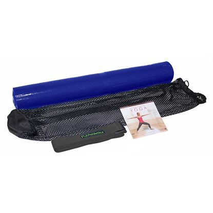 Picture of PurAthletics Introduction to Yoga 4pc Kit