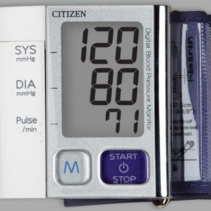 Picture of Citizen Ultra Slim Blood Pressure Wrist Monitor