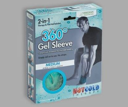 Picture of 360º Gel Sleeve Hot/Cold Compression, Medium