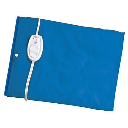 Picture of Sunbeam® Moist / Dry Heat Heating Pad with Auto-Off, Newport Blue
